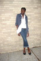 Forever 21 jacket - unknown jeans - Old Navy blouse