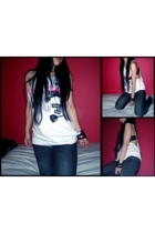 Forever21 blouse - Sg Wang jeans