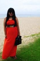 Mahina dress - big buddha bag - Ray Ban sunglasses - Steven Madden sandals - ban