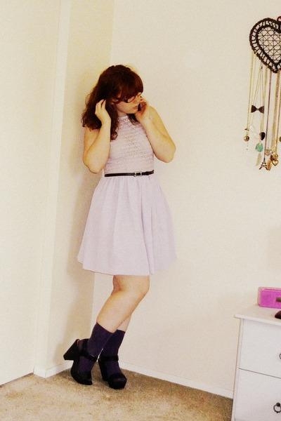 Amercan Apparel dress - Aldo heels