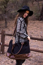 Black-over-the-knee-charlotte-russe-boots-black-urban-outfitters-hat