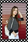 White-high-waisted-express-jeans-black-striped-crop-poof-apparel-sweater