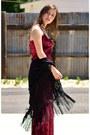 Crimson-velvet-immediate-fashion-company-dress-black-kimono-hot-topic-cardigan