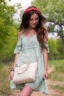 Aquamarine-others-follow-dress-ivory-coach-bag-brown-not-rated-sandals