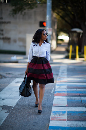asos skirt - Express blouse