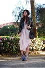 Black-vintage-by-shevahh-jacket-light-pink-vintage-by-shevahh-dress