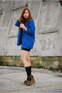 Blue-cobalt-blue-vintage-by-shevahh-blazer-black-high-waisted-forever-21-skirt