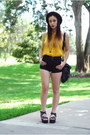 Black-vintage-hat-black-forever-21-bag-black-high-waisted-bdg-shorts