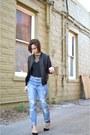 Navy-boyfriend-jeans-forever-21-jeans-black-forever-21-jacket