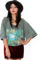 green Red Mera Vintage t-shirt - red Red Mera Vintage skirt
