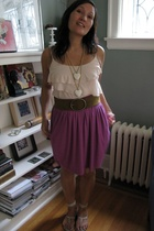 Eloise top - Saint Grace skirt - Old Navy belt - Candela NYC shoes