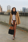 Camel-topshop-blazer-brown-h-m-leggings-black-h-m-bag-h-m-jumper
