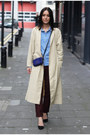 H-m-coat-mulberry-bag-zara-pants-topshop-blouse-river-island-heels