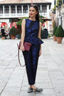 Crimson-celine-bag-navy-peplum-h-m-trend-top-navy-h-m-trend-pants