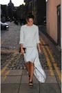 Periwinkle-topshop-jumper-silver-kurt-geiger-bag-silver-topshop-skirt