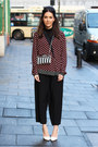 Perspex-zara-bag-crimson-printed-zara-shirt-black-cropped-h-m-pants