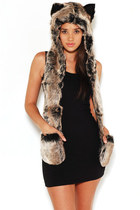 Spirit Hoods hat - Akira dress