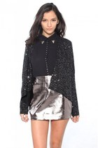 Go from Work to a Holiday Party with the BB Dakota Remi Sequin Cardigan