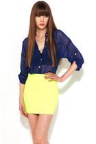 yellow Akira skirt