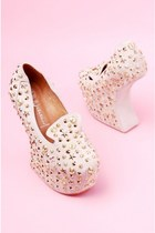 Jeffrey Campbell Blyke Stud in Nude at ShopAKIRA