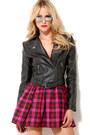 Hot-pink-akira-dress-black-akira-jacket