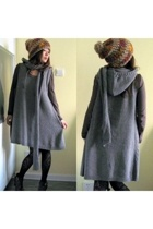 beige multi color hat Shopchicobsession hat - gray Shopchicobsession dress
