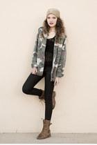 Bleulab jeans - beanie Shop Felyne hat - Glamorous jacket