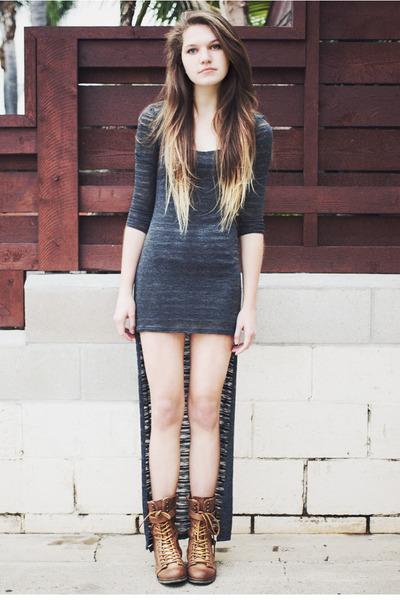 cotton grey Shop Felyne dress