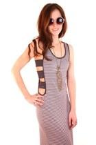 heather gray ShopGoldie dress