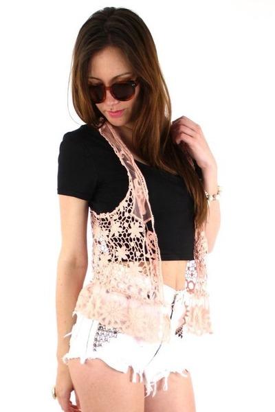 peach ShopGoldie vest