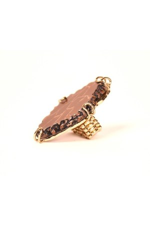brown ShopGoldie ring