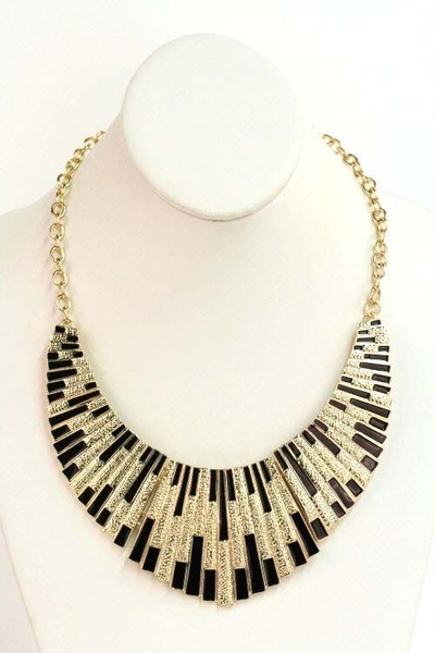 black ShopGoldie necklace
