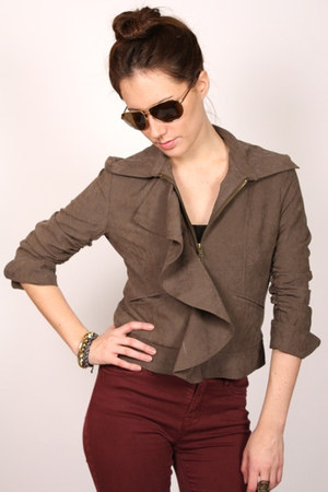 light brown ShopGoldiecom jacket