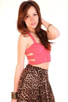 hot pink wwwShopGoldiecom top