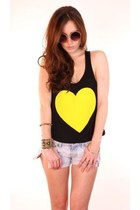 yellow ShopGoldiecom top