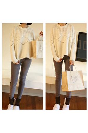MatildaJ sweater - MatildaJ jeans - MatildaJ socks