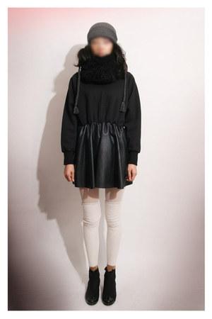 faux leather MatildaJ dress