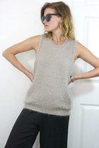 Fuzzy Sweater Tank