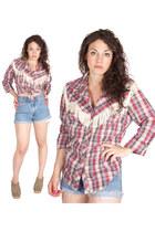vintage western H Bar C shirt