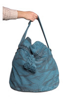 dyed denim bag Triple 7 bag