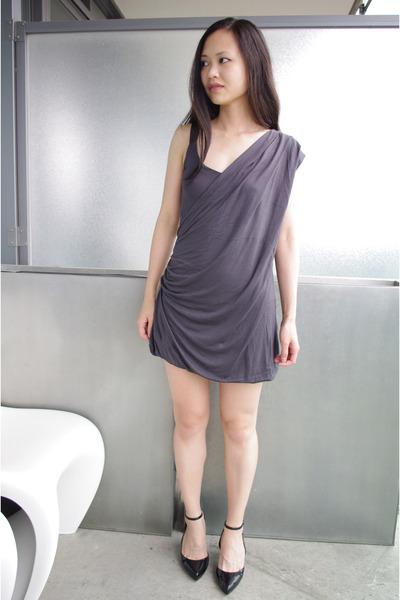 French Connection dress - Melissa shoes