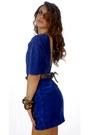 Leather-suede-vintage-dress