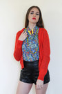 Butterfly-pin-vintage-accessories-bold-brights-vintage-cardigan