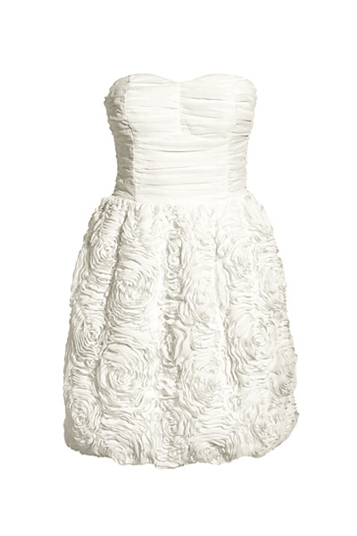 white H&M dress