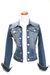 blue True Religion jacket