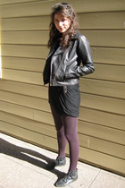 Urban Outfitters jacket - Forever21 tights