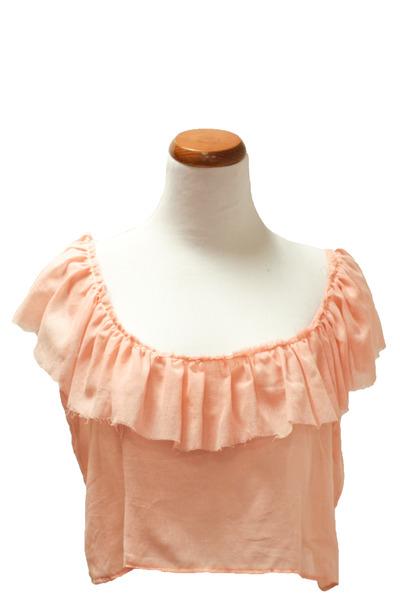 pink Alyssa Nicole top
