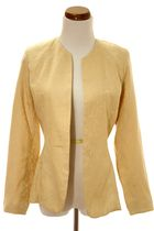 yellow Cline &amp; Kolarek blazer
