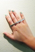 silver ring Bijules accessories