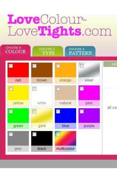 Chic Boutique: Love Colour-Love Tights